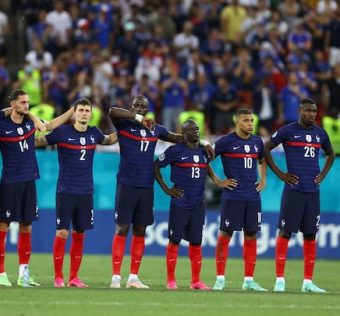 France eliminated by Switzerland in the Euro 2021