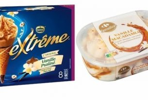 More than 60 Ice Creams are being recalled for safety reasons